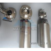 China Stainless Steel 304 316L Tri Clamp Manual/ Pneumatic Sanitary Butterfly Valve wholesale