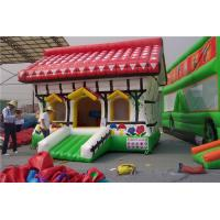 China Farmhouse Inflatable Jumping Castle Rental For Kids And Kindergarten wholesale