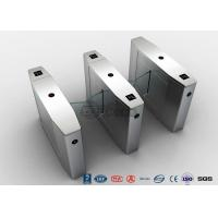 Quality Stainless Steel Heavy Duty Flap Barrier Gate Automatic Turnstiles For Public Facility for sale