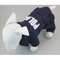 Quality 2015 Dog Pet Cat Sweater Hoodie Coat Jacket POLICE Puppy Clothes for sale
