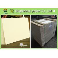 China High Stiffness Luggage Tags Paper Board , Thick Cardboard Printer Paper wholesale