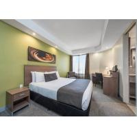 Buy cheap Fashionable Hotel Bedroom Furniture Sets With Laminate Finish from wholesalers