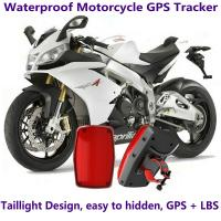 China GPS304 Waterproof Motorcycle GSM GPRS GPS Tracker LBS Locator 9~40V Support Alarm Siren wholesale
