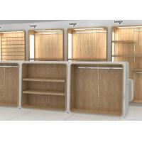 China MDF Veneer Wood Children'S Store Fixtures Decorated With Nice LED Lighting wholesale