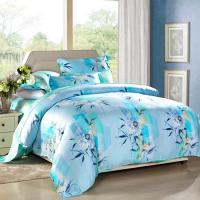 China Modern 4pcs Home Bedroom Bedding Sets 100 Percent Cotton Fabric Tancel Duvet Cover Sets wholesale