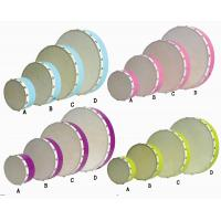 China Tambourine Drums Suite Kids Music Instruments Clip Art Colorful Hand Percussion wholesale