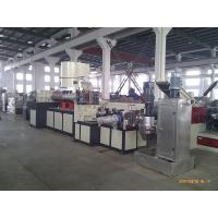 China Double Stage Recycling Plastic Extrusion Line With Two Single Screw Extruders on sale