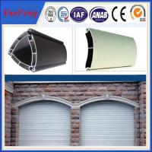 China extruded aluminium profiles prices per kg/coiling door,shutter door aluminium profile wholesale