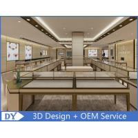 China OEM Modern Shop Showroom Jewellery Counter Display With Led wholesale
