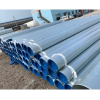 China BS Standard Hot Dip Galvanizing ERW Steel Tube/pre galvanized steel pipe/Galvanized Round Steel Pipe/GI Pipe wholesale
