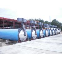 China Saturated Steam Wood Chemical Autoclave / Wood Block Machine , High Temperature wholesale