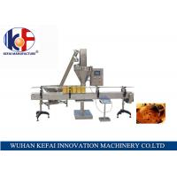 Buy cheap Semi-Automatic milk powder/seasoning/additives/ dry powder filling machine from wholesalers