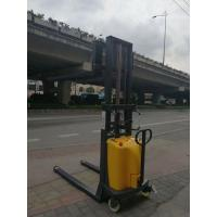 China Double Frame Semi Electric Stacker 1000kg Material Handling Equipment on sale