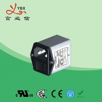 China Yanbixin AC Socket IEC Inline EMI Filter With Switch Holder 10A 120V 250VAC wholesale