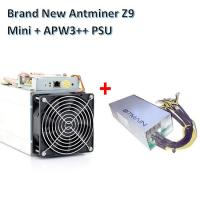 China Bitcoin Mining Device Antminer Z9 mini 10kh/s ZCash miner with Power supply Asic Miner wholesale