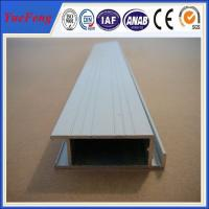 China extruded aluminum rail price, aluminium profiles frame with painting(powder coating) wholesale