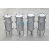 China Bag Filter Housing/Stainless Steel Water Filter Housing/Tank 304 Liquid Bag Filter Housing Water Purification wholesale