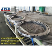 China RKS.162.16.1644 Slewing bearing with gear 1495x1752x68 mm Polishing surface wholesale