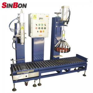 China semi-auto aseptic drum filling machine oil drum filling machine wholesale