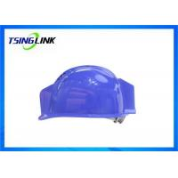 China H.264 Coding Head Protective 4G Wireless Device With 1080P Resolution Camera Lamp wholesale