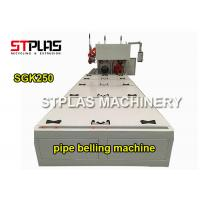 China Automatic Plastic Hard Pvc Pipe Belling Machine For 50-250mm Diameter on sale