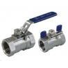 "China stainless steel valves,ball valve, 1pc ball valve,economy ball valve      1/4"" wholesale"