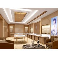Quality Contemporary Jewelry Product Showroom Display Cases With Pre - Assembled Structure for sale