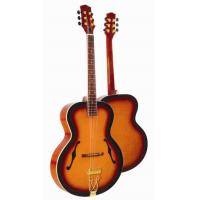 Quality Deluxe F Hole Whole Solid Wood Acoustic Guitar / Western Guitar Professional for sale