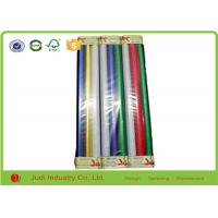 China Fashionable Christmas Gift Wrapping Paper 4cm Diameter 70cm X 300cm Gravure Printing wholesale