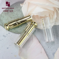 China bling square special shape cosmetic plastic empty lipstick tube purple on sale
