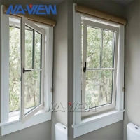 China Competitive Price Aluminium Single Hung Tilt And Turn Egress Window Soundproof wholesale