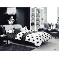 China 100 Percent Polyester Girls Bedroom Bet Sets Black And Whtie Striped Bedding wholesale