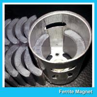 China C5 Grade Permanent Ferrite DC Motor Magnet High Performance R13.15*R8.8*H21mm wholesale