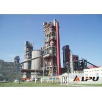 China Dry Or Wet Type Cement Cement Plant Kiln With Rotating Speed 0.26-2.63 r/min wholesale