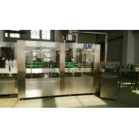 China PET / PP Bottle Automatic Water Filling Machine , Pure Water Bottling Equipment wholesale