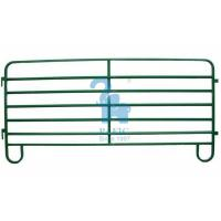 Quality Temporary Metal Corral Fence Profile Powder Coated Metal Pipe Animal Fencing for sale