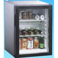China Luxury Black Hotel Mini Bars With LED Light Inside Environmental Friendly wholesale