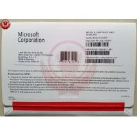 China Windows Server Software Windows 8.1 Pro OEM Package With DVD And Key COA Sticker wholesale