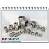 China 3000 lbs high pressure Forged stainless steel pipe fittings wholesale
