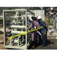 China Transformer Oil Purifier Dewatering Degassing,Drying, Online Vacuum Purification Plant wholesale