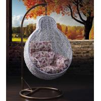 China Rattan swing chair hanging chair patio swing egg chair swing wholesale