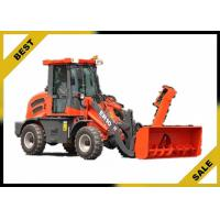 China Countershaft Powershift Front Loader Tractor With Gear Box High Strength Structure wholesale