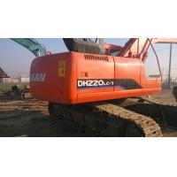 China $40000 Good used excavator machine DOOSAN DH220LC-7 2009 made, original paint wholesale