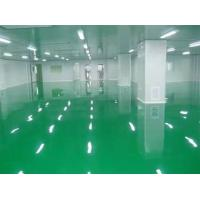 China Customized Size Modular Clean Room Comfortable Surface With Cleaning Floor wholesale