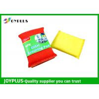 China JOYPLUS Disposable Dish Washing Pad , Nylon Cleaning Pad High Absorbent wholesale