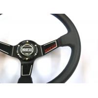 Quality Easy Installation Quick Release Steering Wheel Build - In Iron Ring And Horn for sale