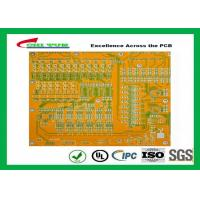 China Mortherboard Quick Turn Printed Circuit Boards  with Yellow Solder Mask FR4 1.6MM wholesale