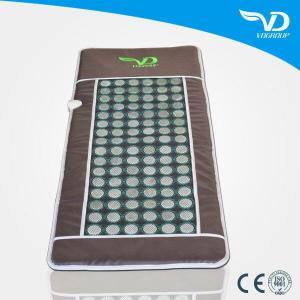 China Portable Infrared Jade Stone Heating Massage Mattress wholesale