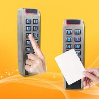 China Portable RFID Proximity Card Reader With Keypad High Security Level wholesale