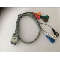 China Edan SE2003/ SE2012 Lead Shielded Cable , Bi9800/9000 Ecg Leads Holter Cable wholesale